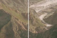 Fiumare - Tempera su tavola 230x120